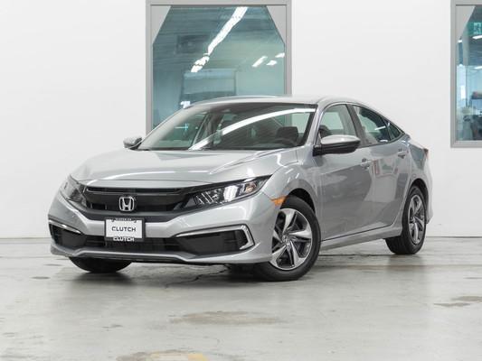 Silver Honda Civic LX