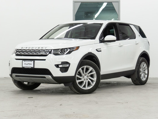 White Land Rover Discovery Sport HSE