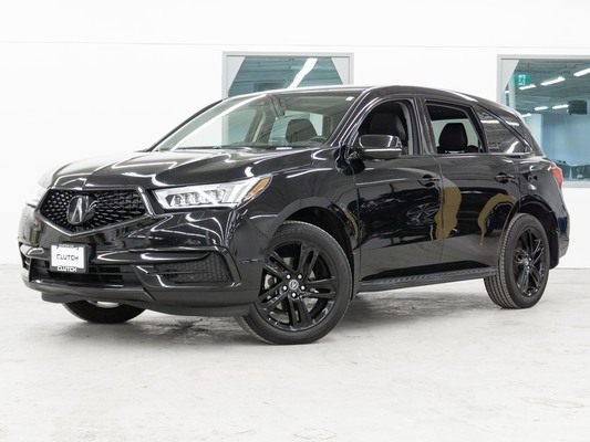 Black Acura MDX NAV PKG AWD