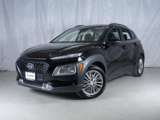 Black Hyundai Kona Preferred