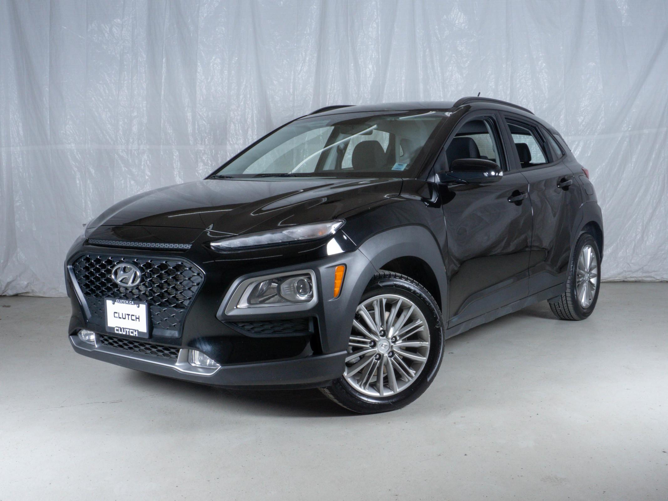 Black Hyundai Kona Preferred AWD