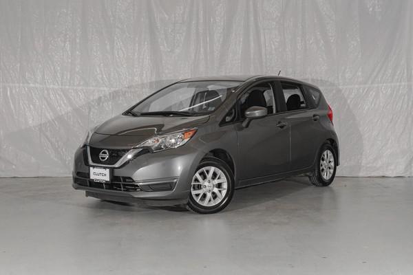 Grey Nissan Versa Note SV