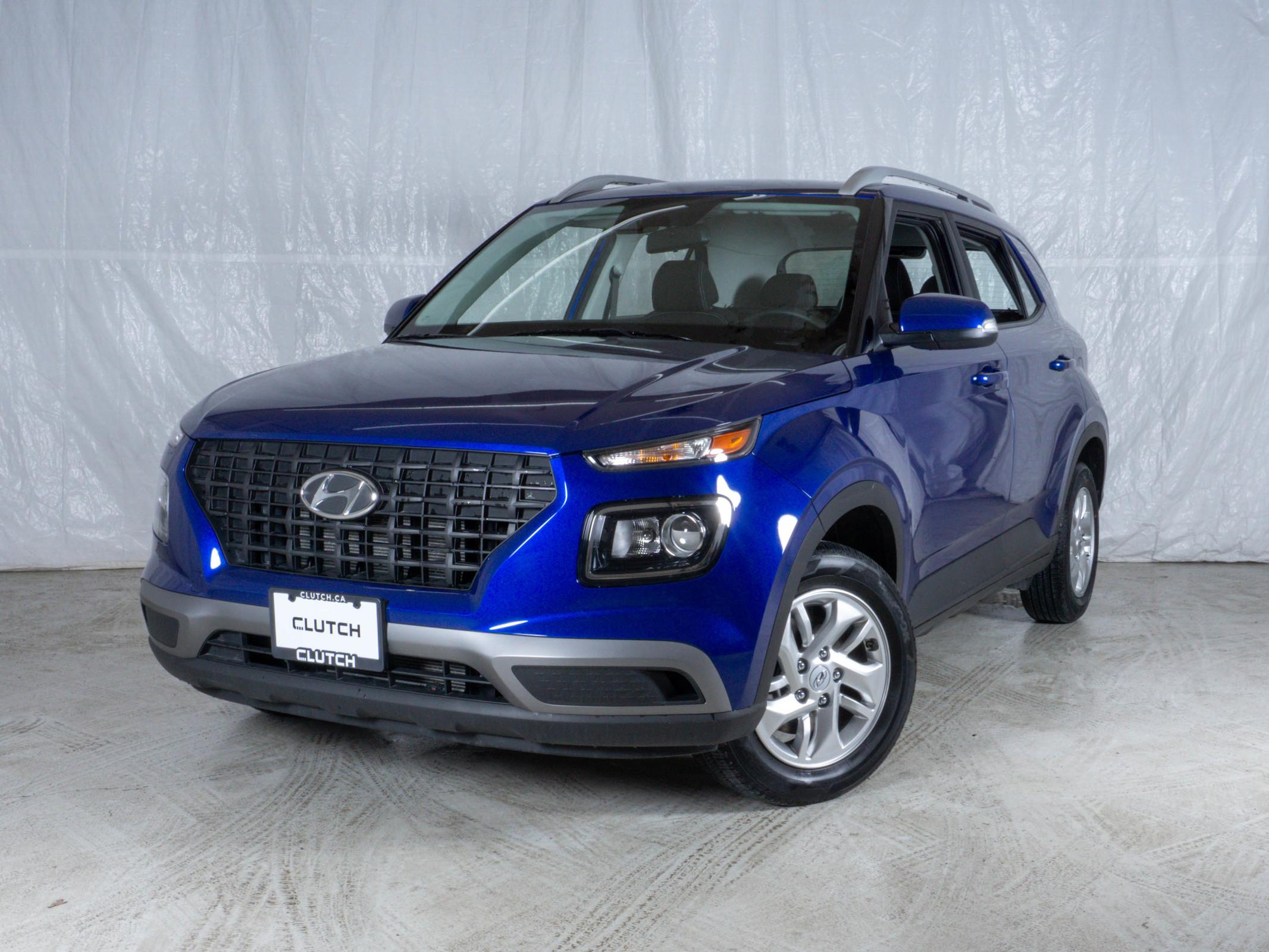 Blue Hyundai Venue Preferred