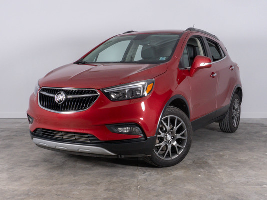 Red Buick Encore Sport Touring AWD