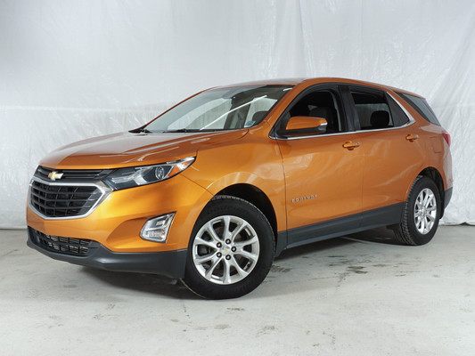 Orange Chevrolet Equinox LT AWD
