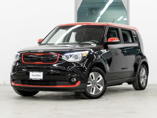 Black Kia Soul EV Luxury