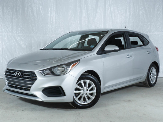 Grey Hyundai Accent Preferred