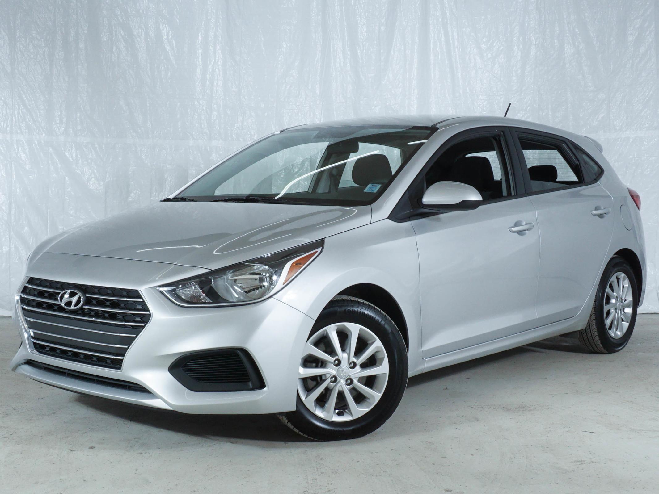 Grey Hyundai Accent Preferred
