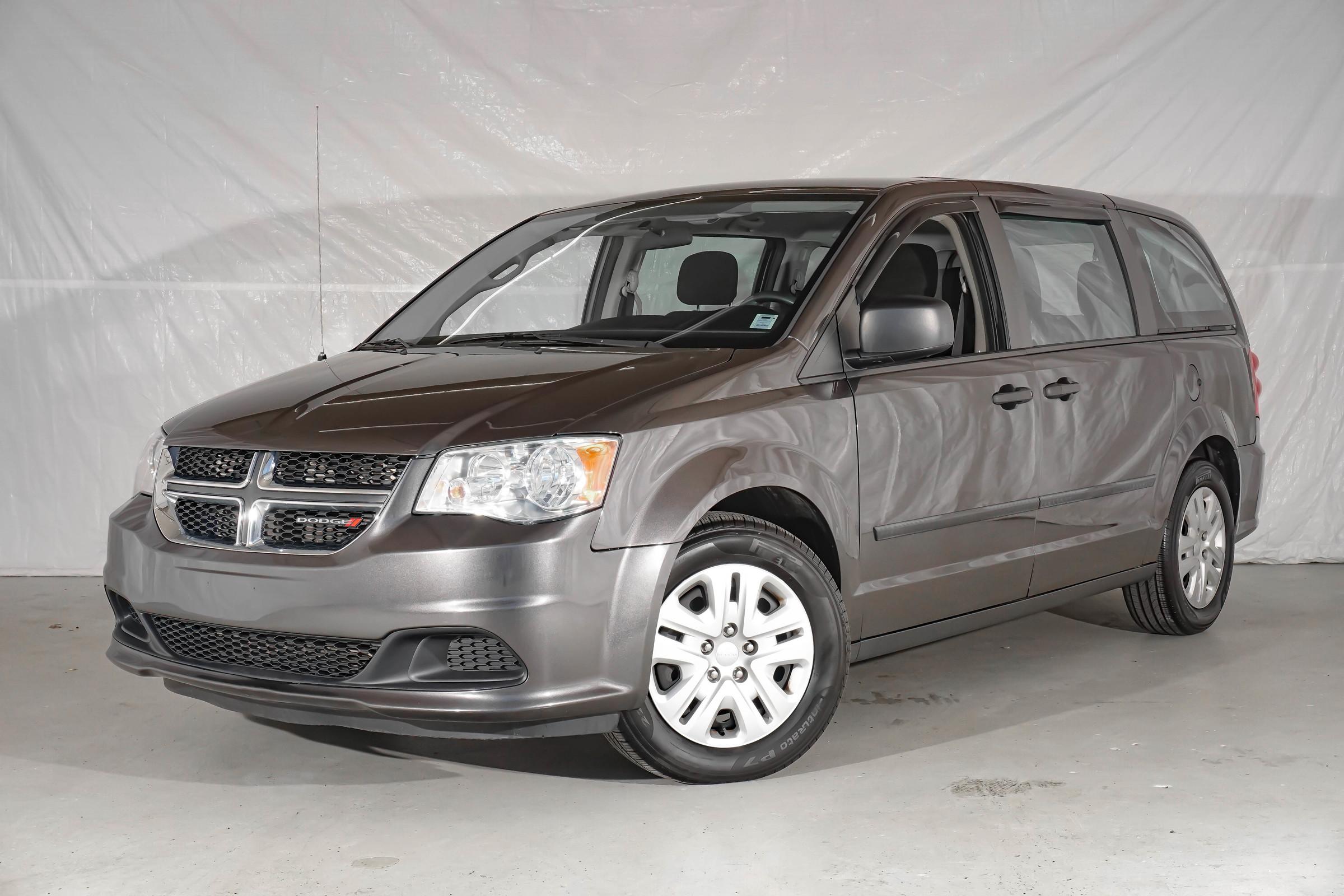 Grey Dodge Grand Caravan Canada Value Package