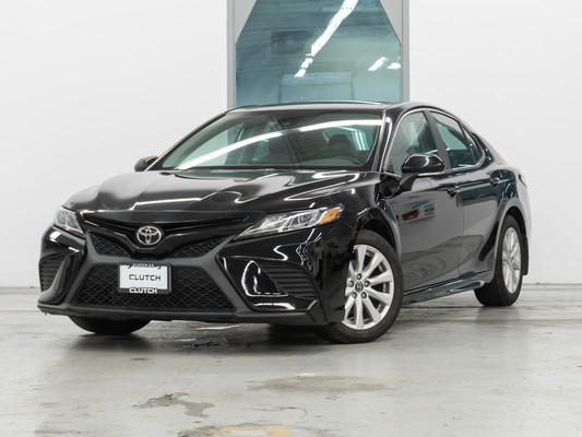 Black Toyota Camry LE