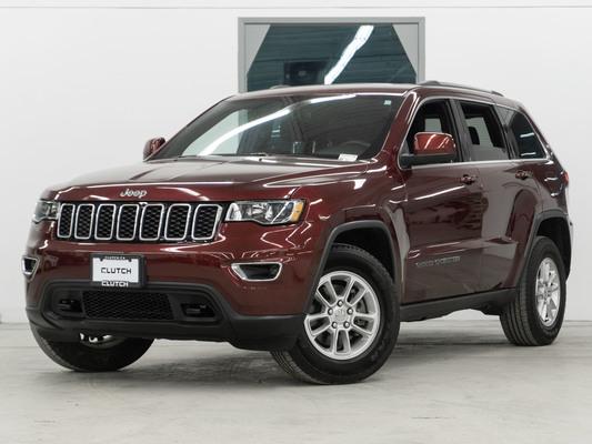 Red Jeep Grand Cherokee Laredo 4WD