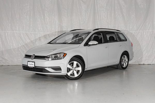 Silver Volkswagen Golf SportWagen Comfortline