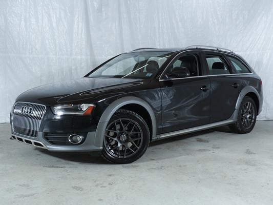 Grey Audi A4 ALLROAD Komfort