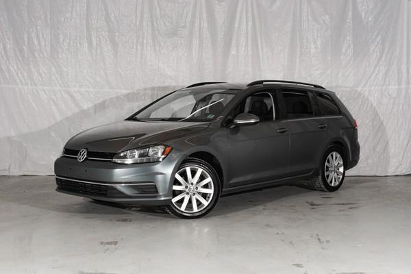 Grey Volkswagen Golf SportWagen Trendline