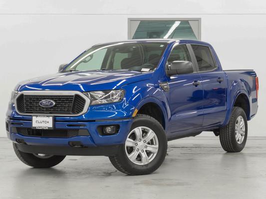 Blue Ford Ranger XLT SuperCrew 4x4