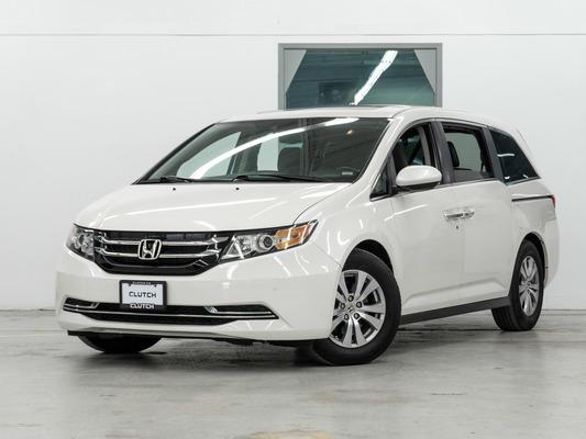 White Honda Odyssey EX-L