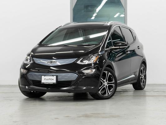 Black Chevrolet Bolt EV Premier