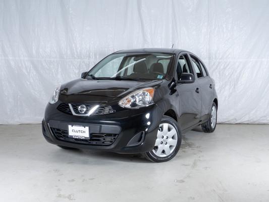Black Nissan Micra SV