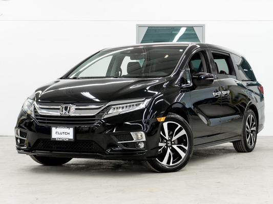 Black Honda Odyssey Touring