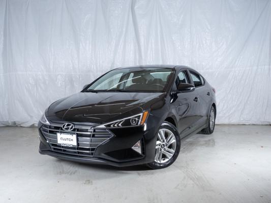 Black Hyundai Elantra Preferred