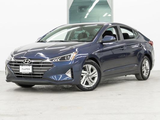 Blue Hyundai Elantra Preferred