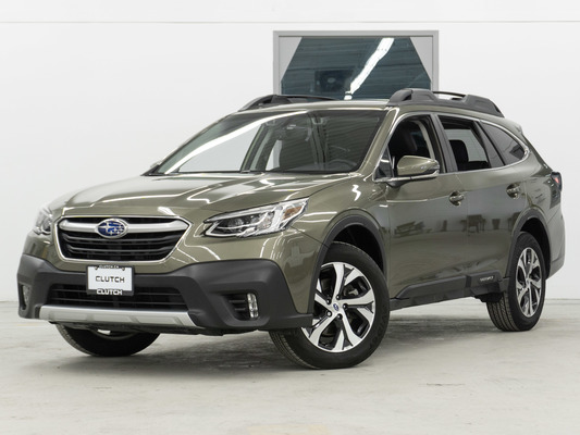 Green Subaru Outback Limited XT AWD