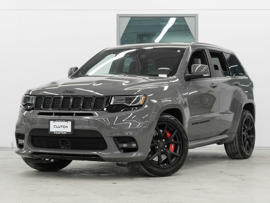 Grey Jeep Grand Cherokee SRT 4WD