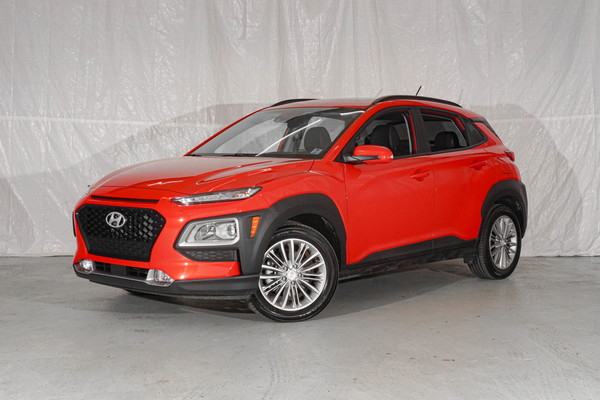 Orange Hyundai Kona Luxury