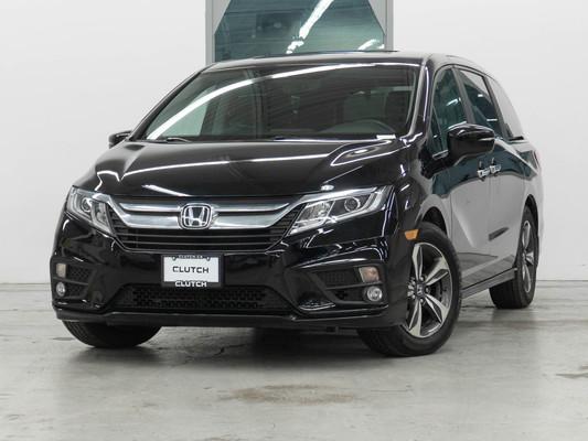 Black Honda Odyssey EX
