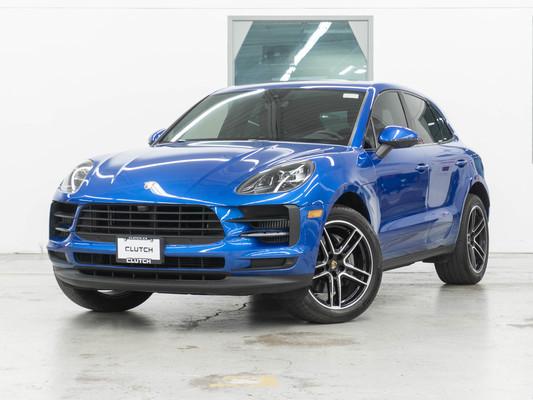 Blue Porsche Macan S AWD