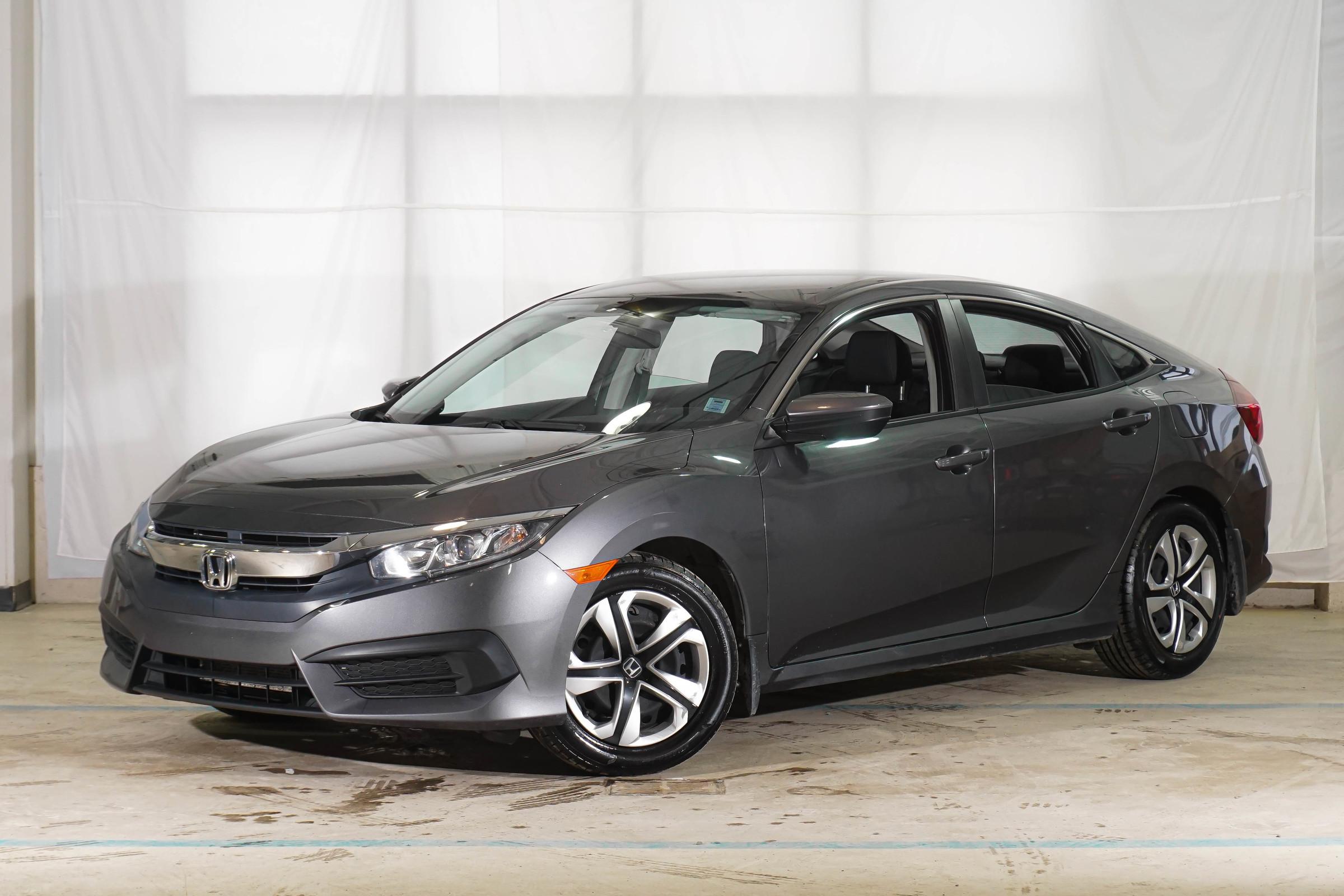 Grey Honda Civic LX