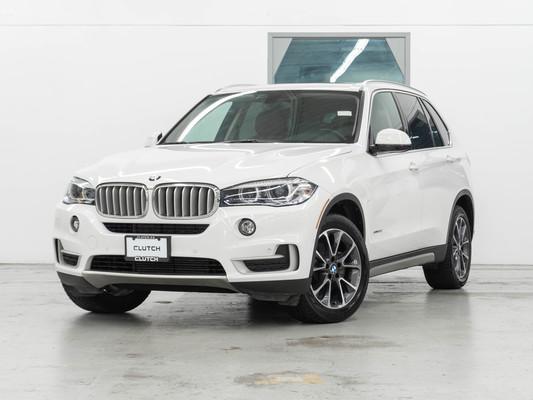 White BMW X5 xDrive35i AWD