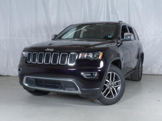 Purple Jeep Grand Cherokee Limited