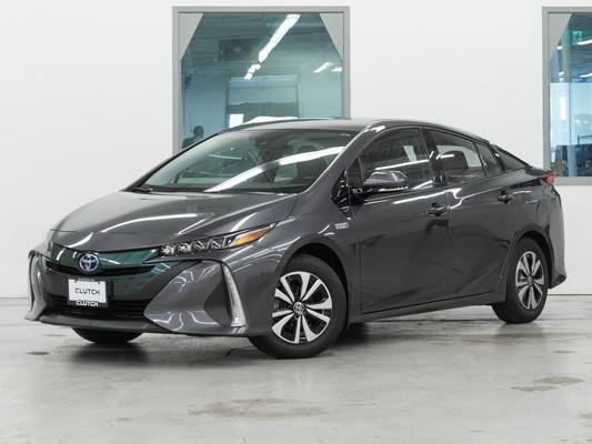 Grey Toyota Prius Prime Base