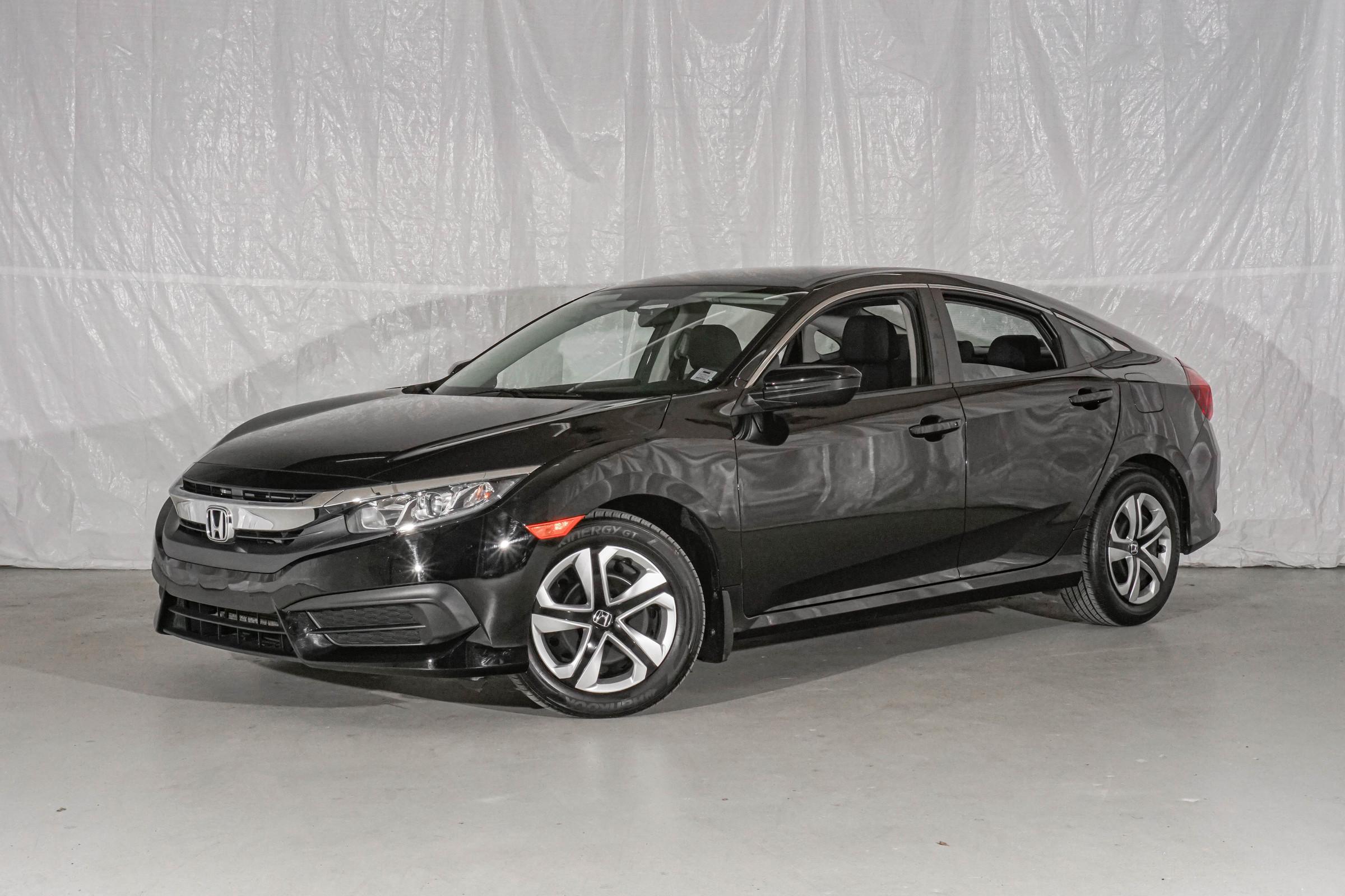 Black Honda Civic LX