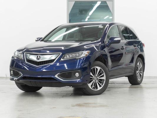 Blue Acura RDX Elite