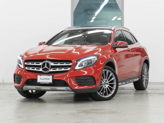 Red Mercedes-Benz GLA 250 4MATIC