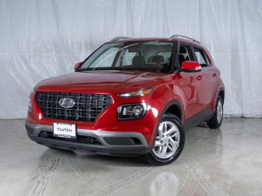 Red Hyundai Venue Preferred