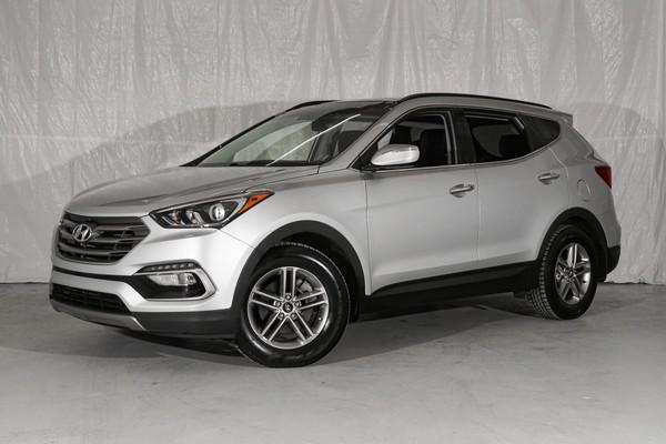 Silver Hyundai Santa Fe Sport Luxury
