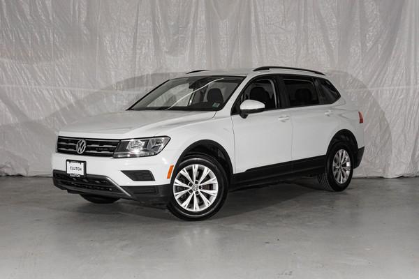 White Volkswagen Tiguan Trendline