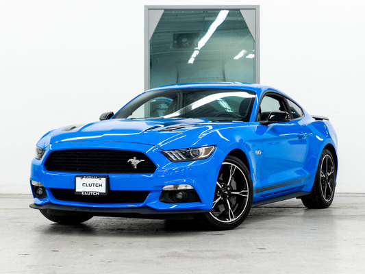 Blue Ford Mustang GT California Special
