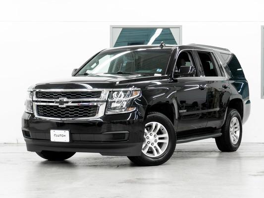 Black Chevrolet Tahoe LS 4WD