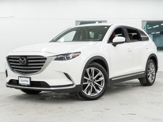 White Mazda CX-9 Signature AWD
