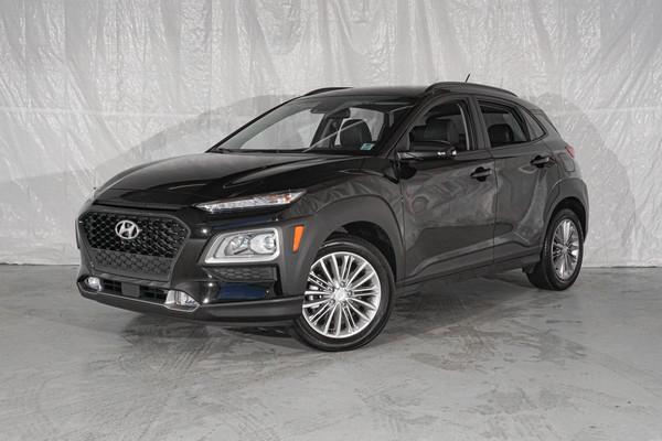 Black Hyundai Kona Luxury