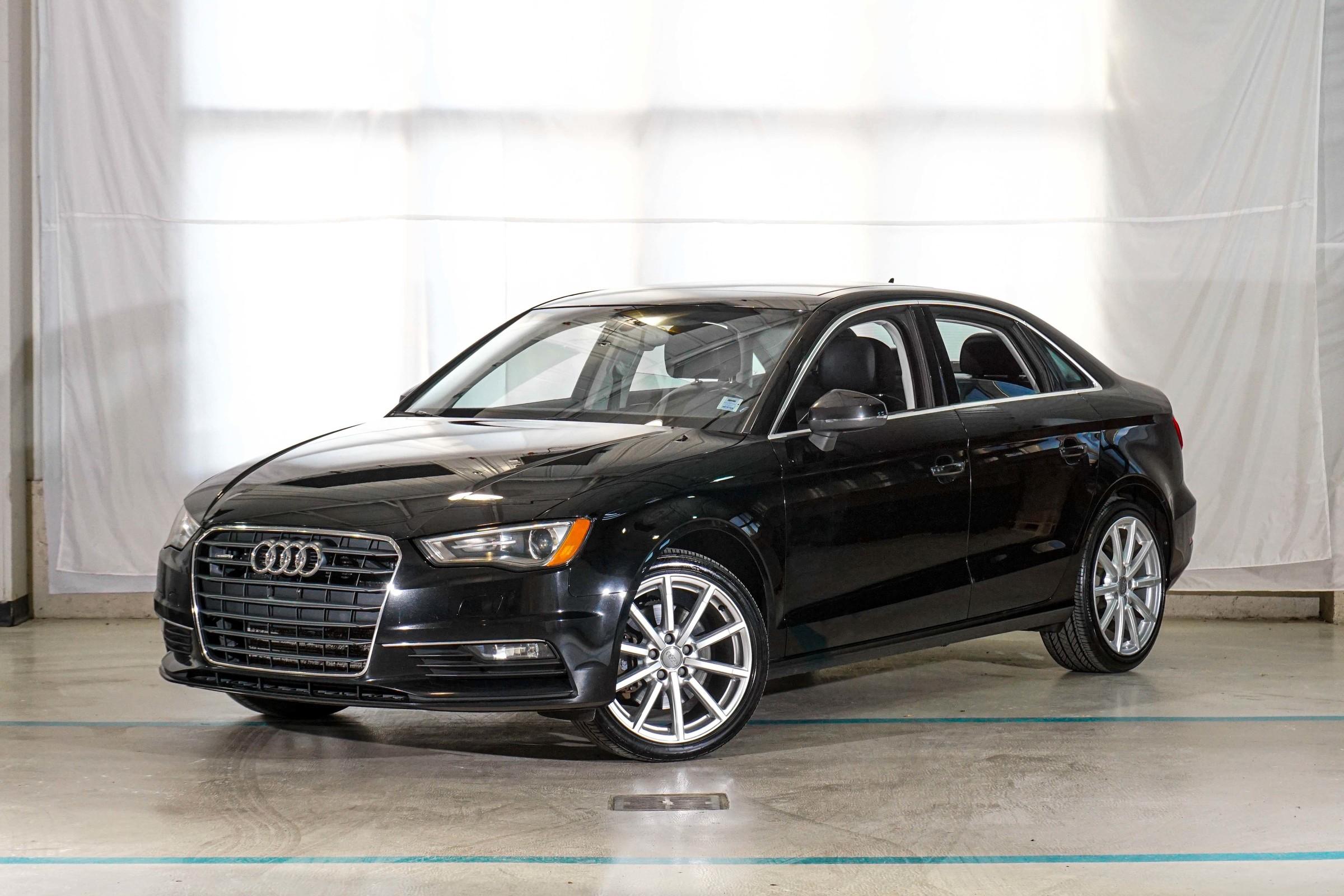 Black Audi A3 2.0T Progressiv