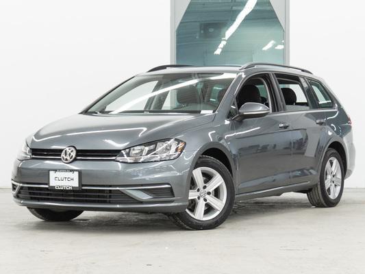 Grey Volkswagen Golf SportWagen Comfortline AWD