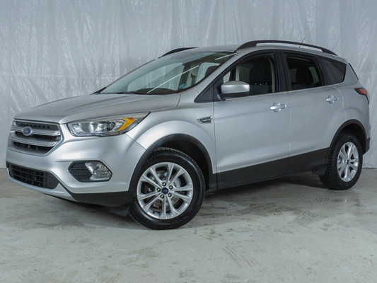 Silver Ford Escape SE