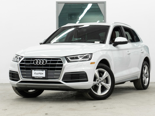 White Audi Q5 Progressiv AWD