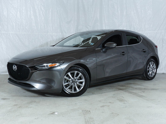 Grey Mazda Mazda3 Sport GS