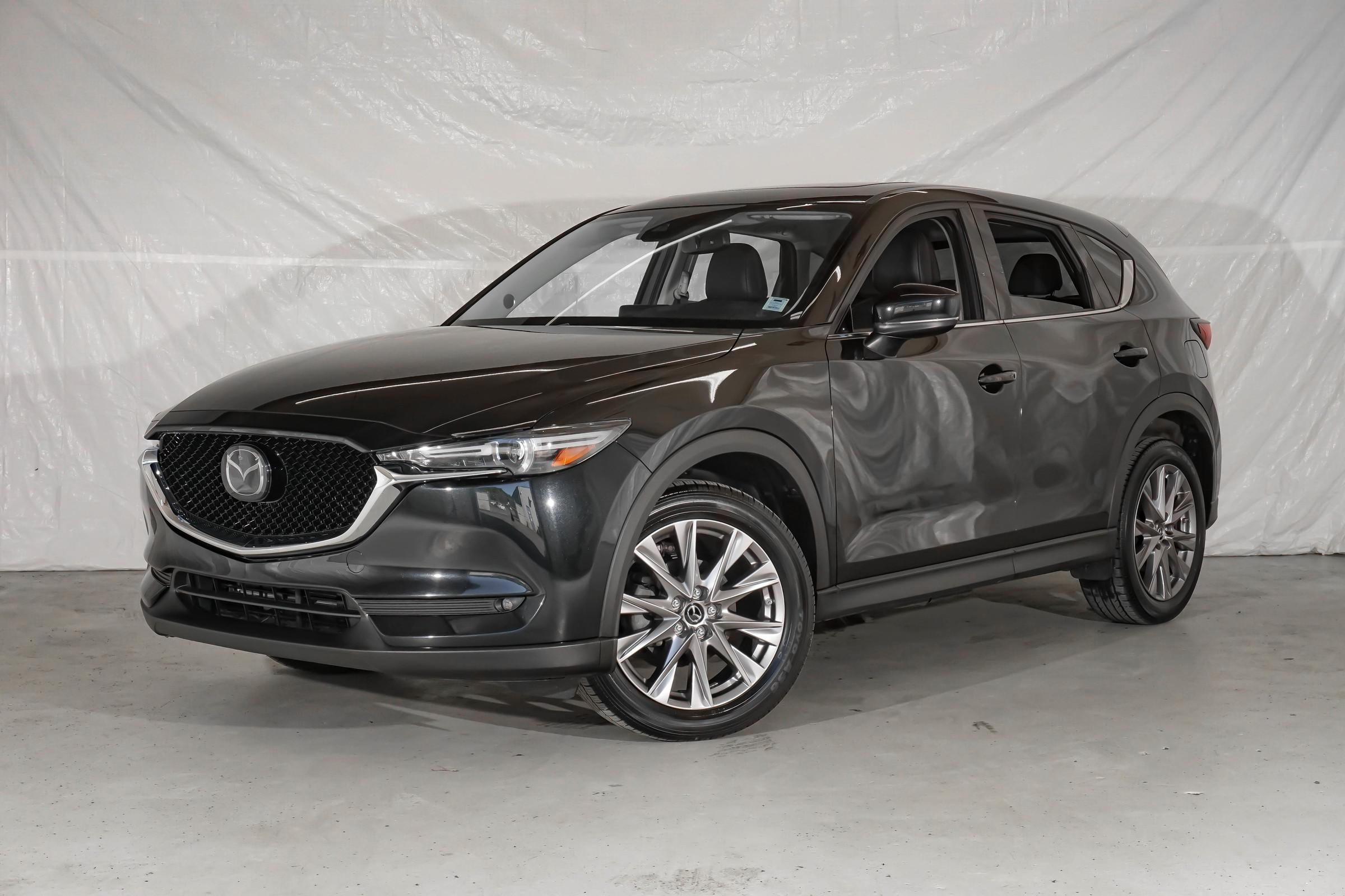 Black Mazda CX-5 GT